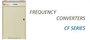 FREQUENCY CONVERTERS CF SERIES